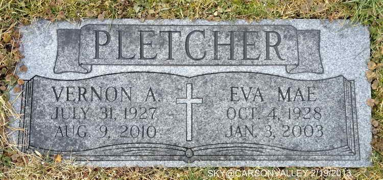 Vernon A Pletcher