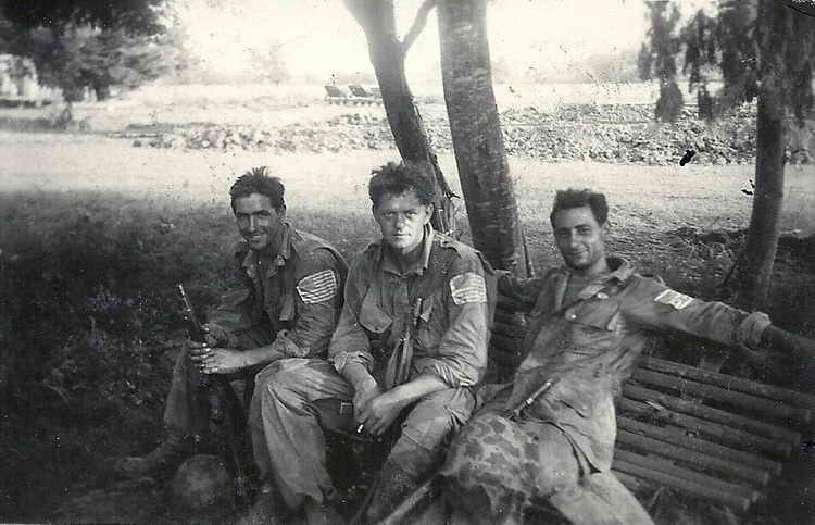 508th PIR resting near Le Muy